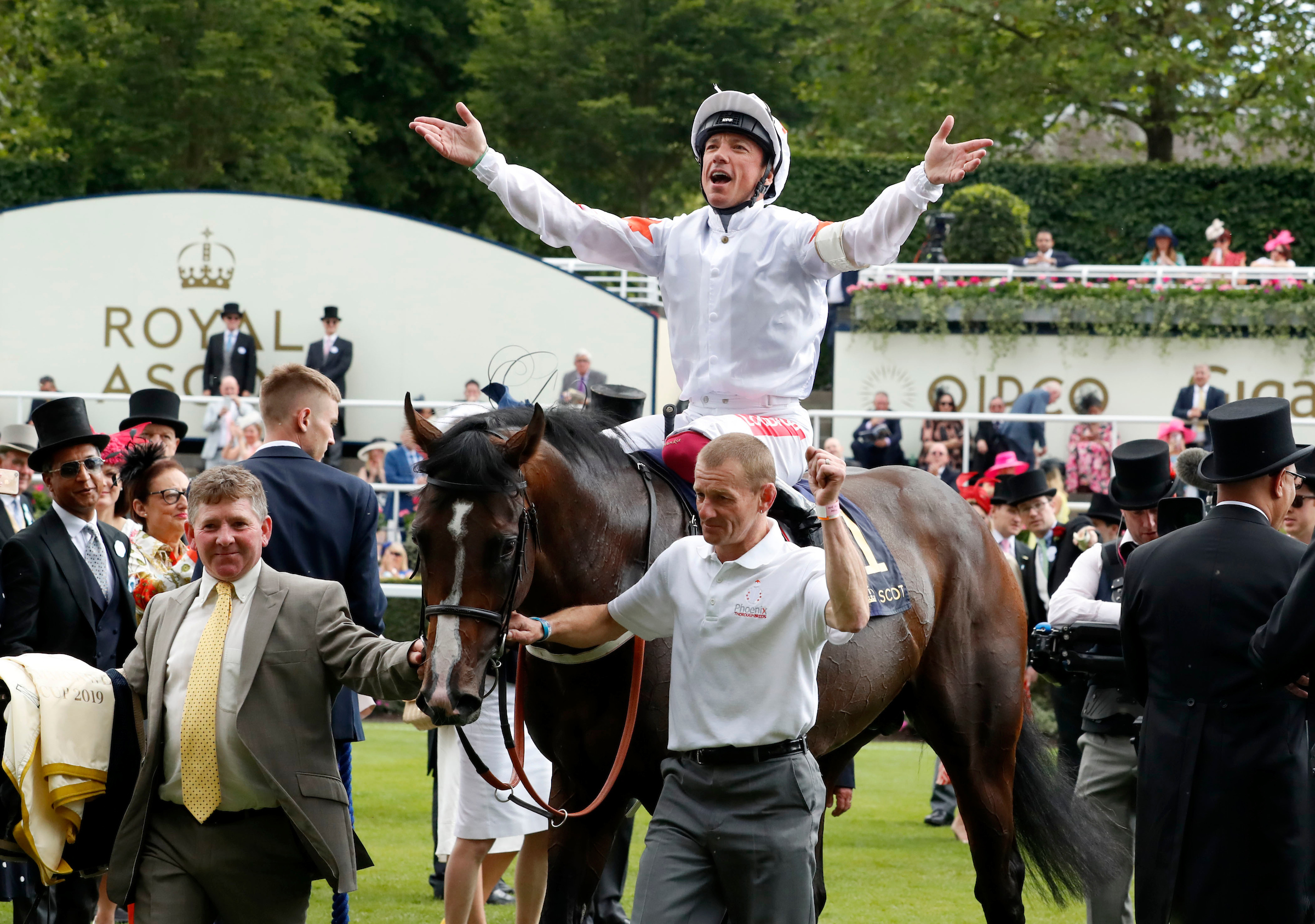 Advertise and Dettori return after winning at Royal Ascot (Focusonracing)