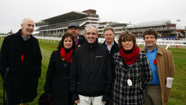 Ruby Walsh - Coursewalk at Cheltenham