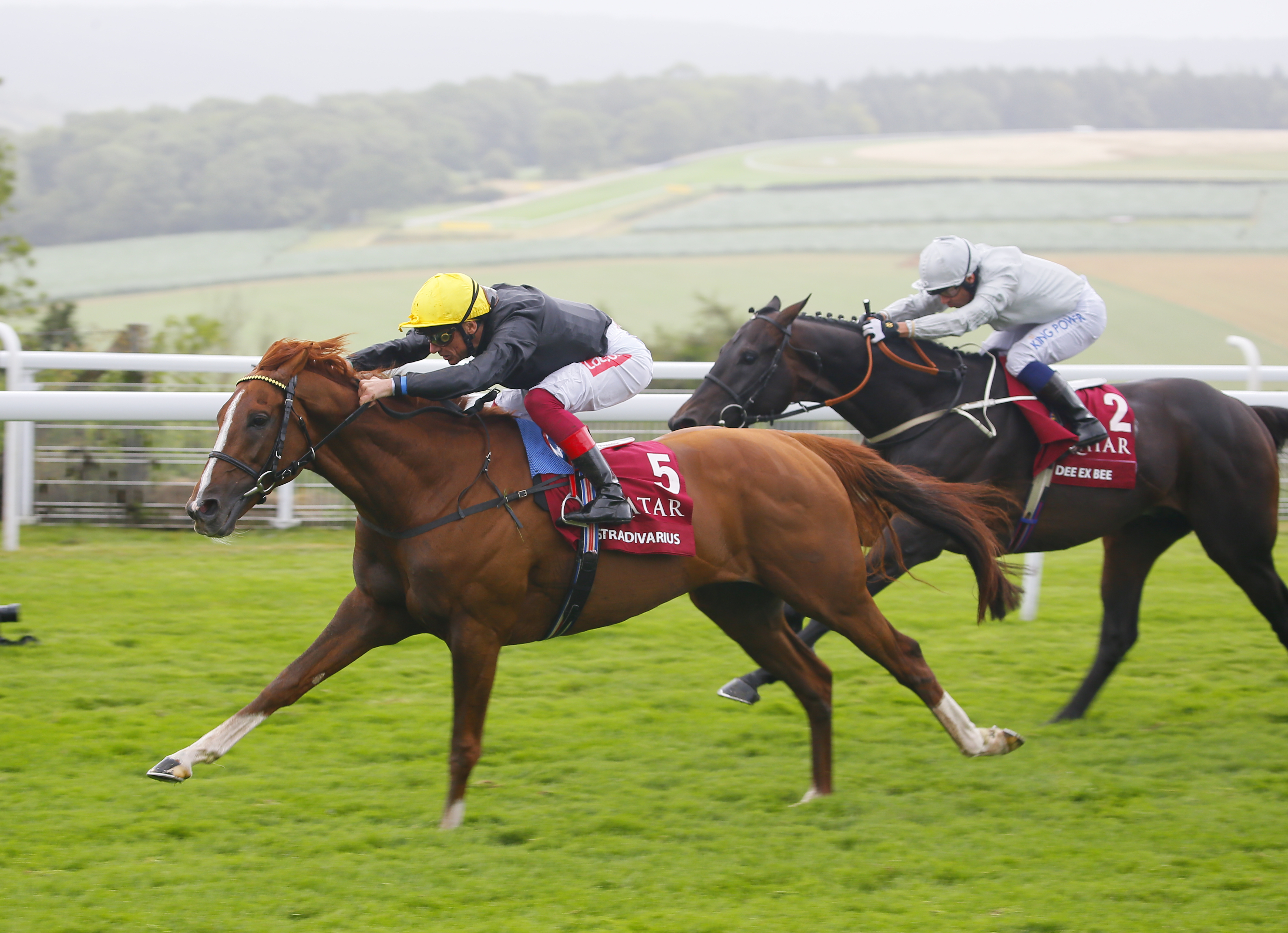 Sectional timing data from RMG's racecourses