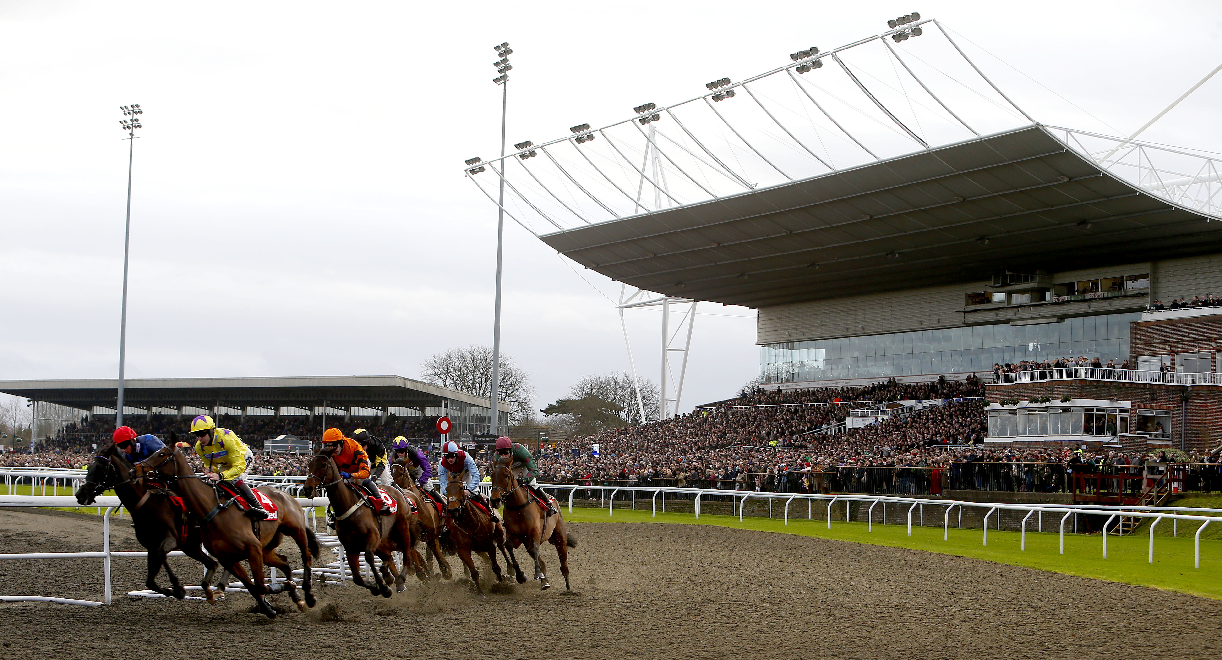 The eight-race card at Kempton will get under way at 3.40pm (Focusonracing)