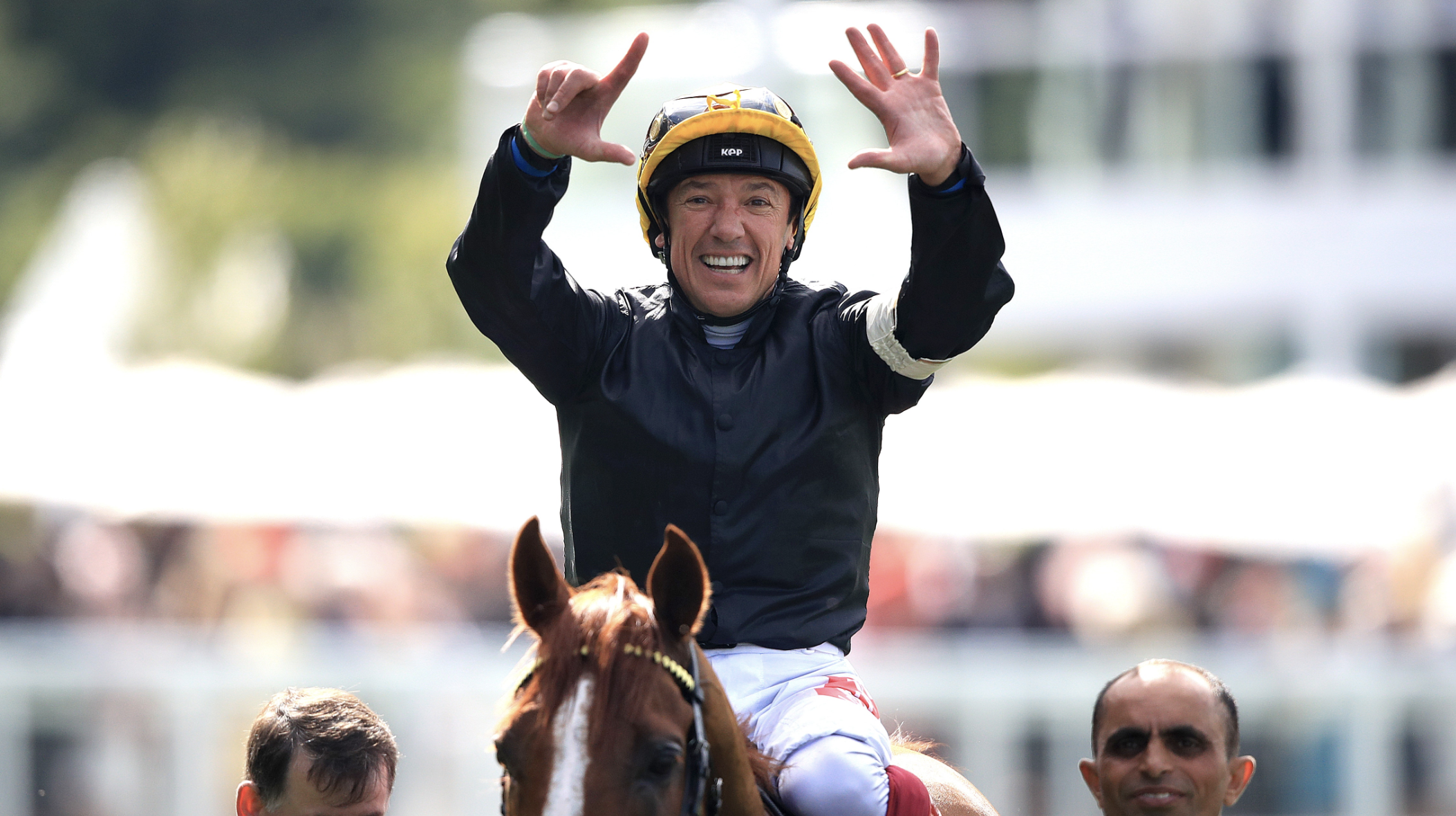 Dettori is Evens . to ride 15 Group One winners this year (PA)
