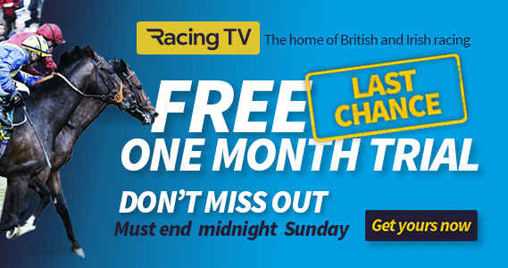 Racing TV Free One Month Trial