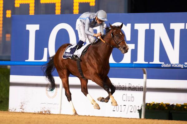Heavy Metal - Mickael Barzalona - Dubai Racing Club