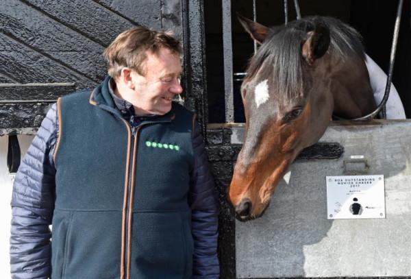 Nicky Henderson with Altior - Seven Barrows - Newbury Racecourse