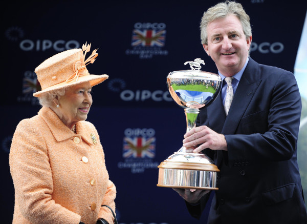 John Ferguson and The Queen - Racingfotos