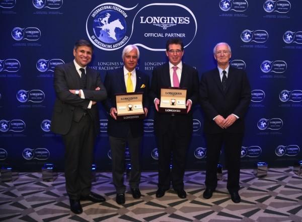 Bob Baffert Longines Awards - Arrogate team - Longines
