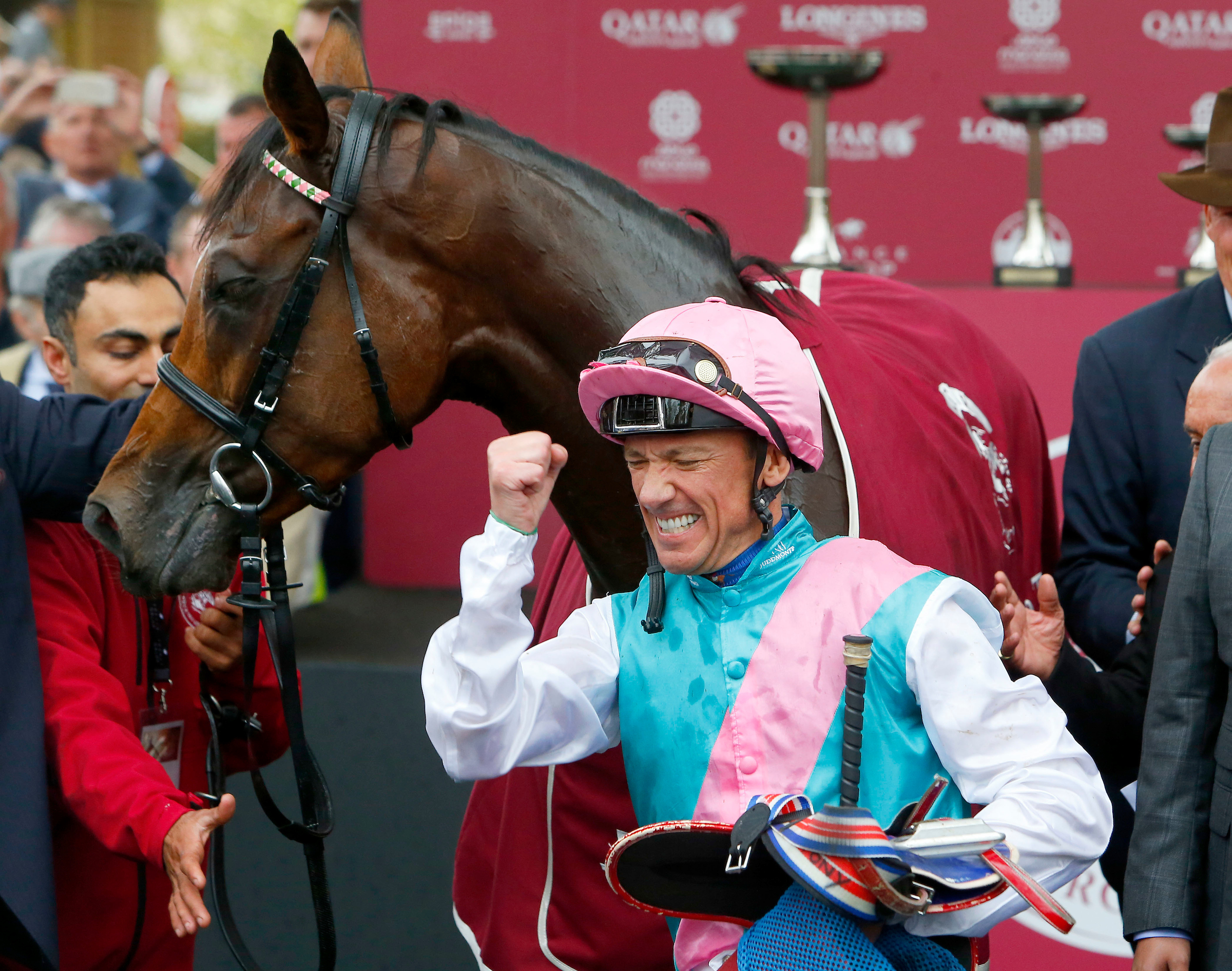 Dettori savours a second Arc triumph on Enable (Focusonracing)