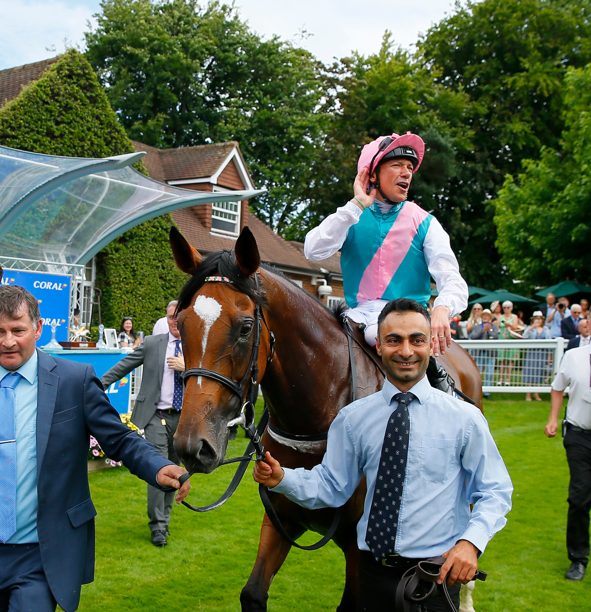 Enable and Dettori return after winning the Eclipse at sandown this month (Focusonracing)