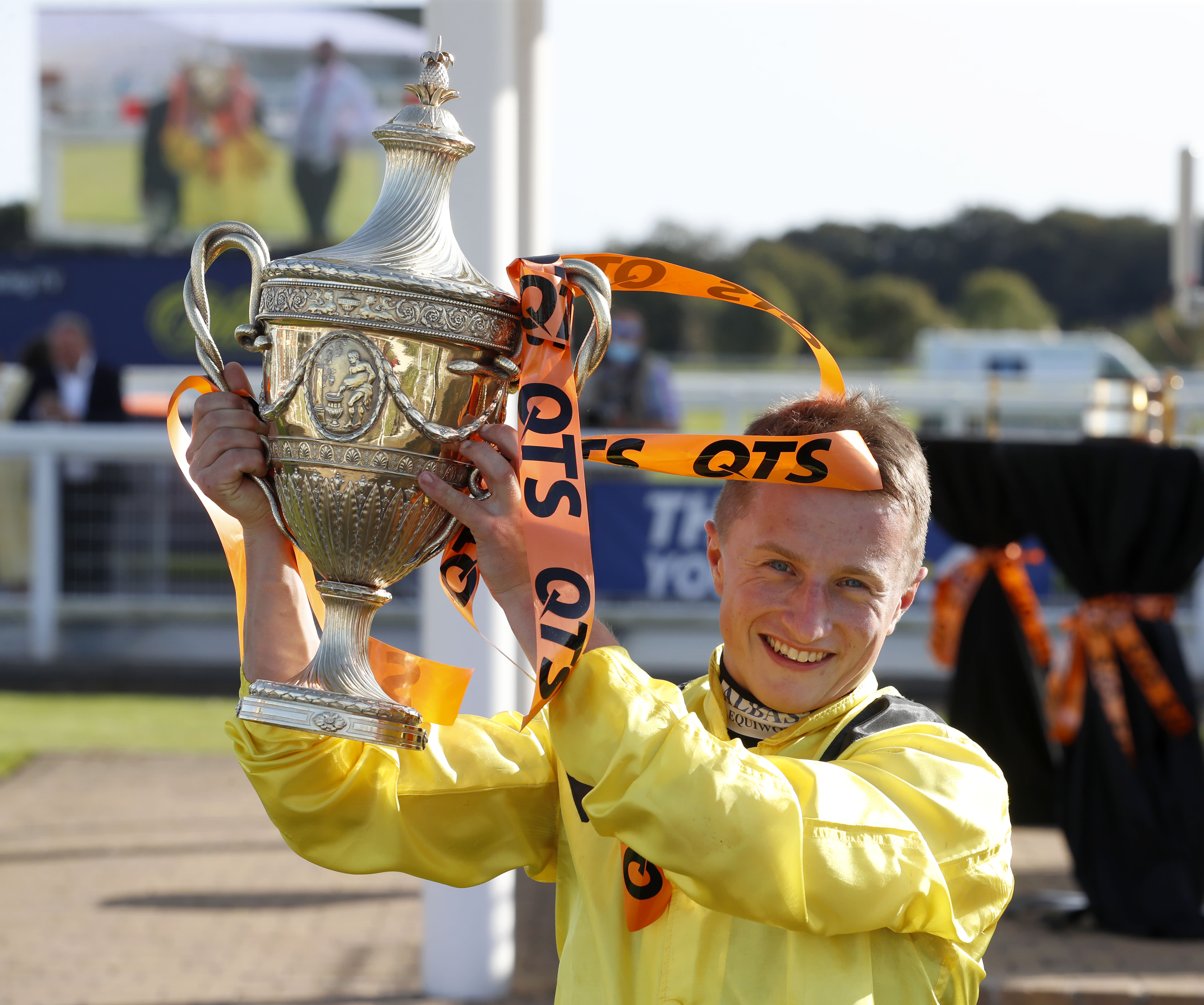 Marquand with the QTS Ayr Gold Cup (Focusonracing)