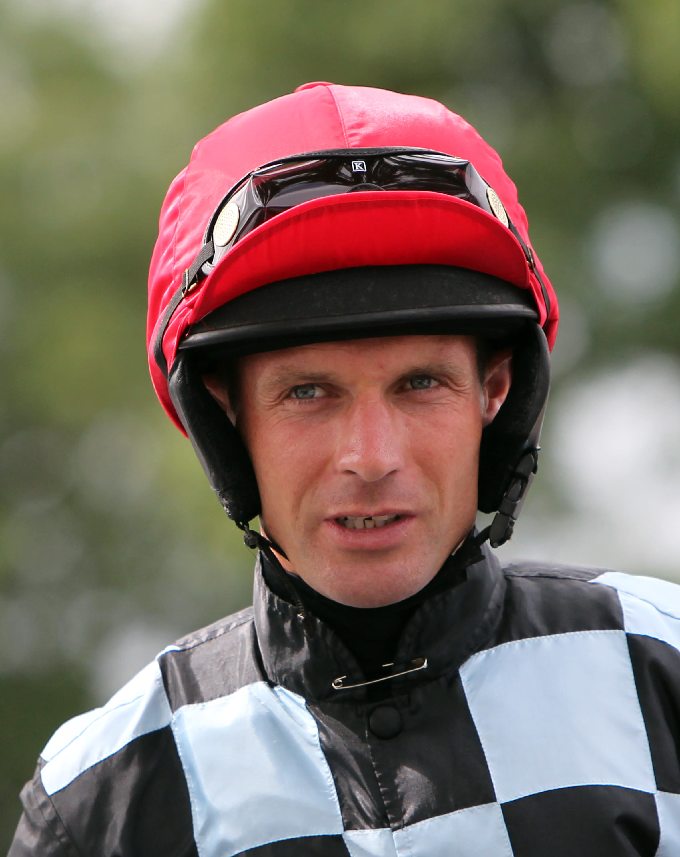 Cook was hurst in a weekend fall at Market Rasen