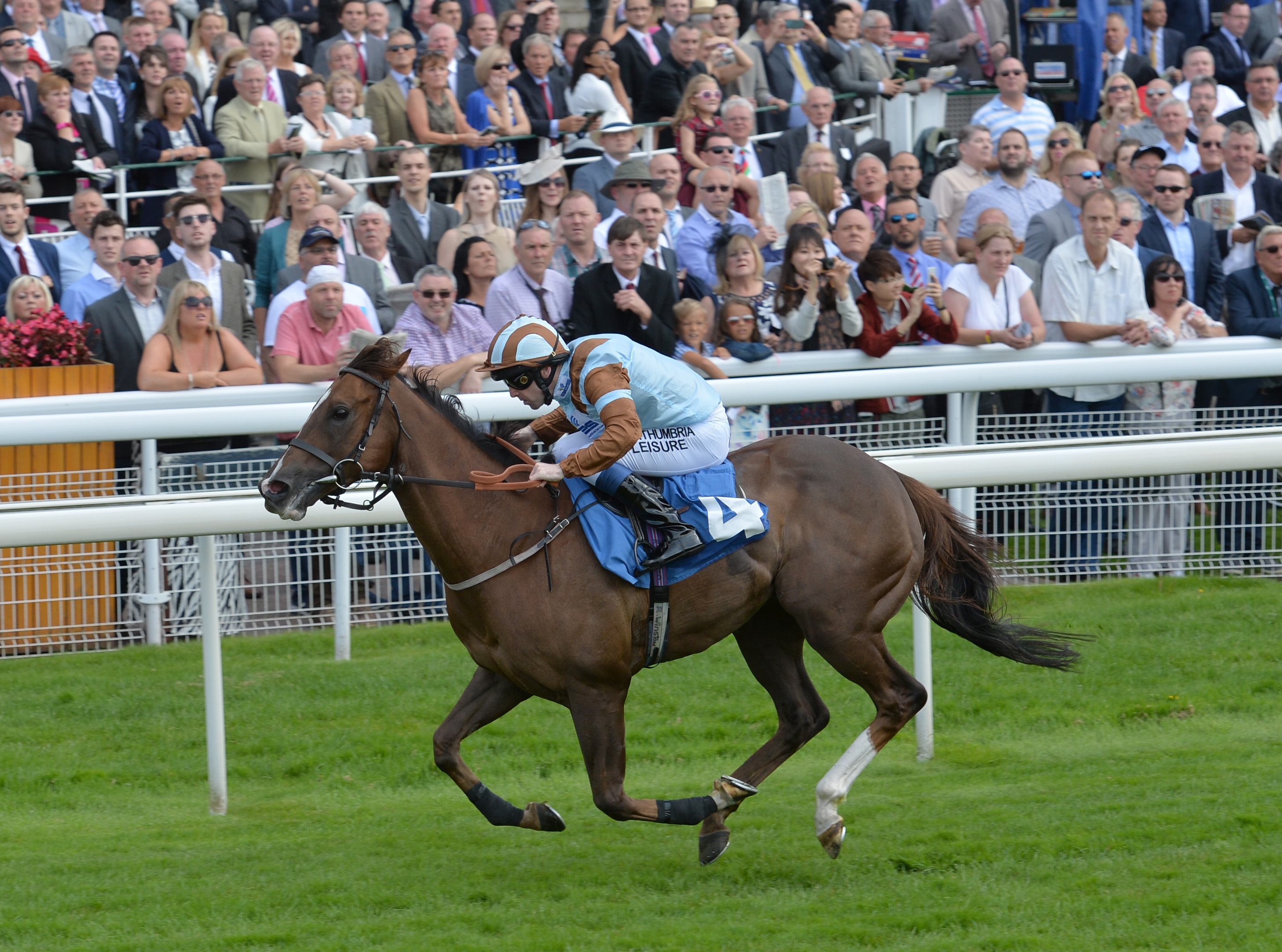 Horse Racing - Welcome to Yorkshire Ebor Festival - Day One - York Racecourse