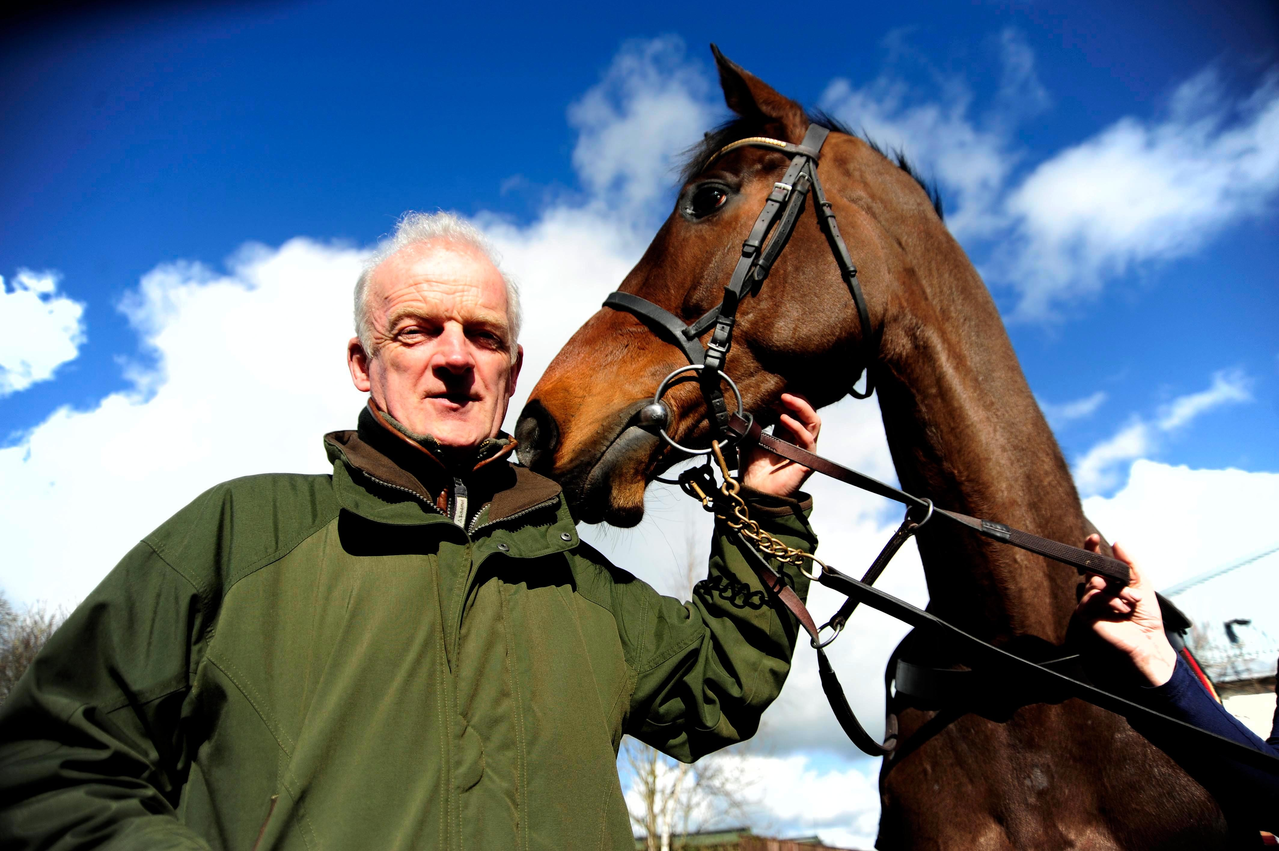 Willie Mullins has often run his stable stars in the Moscow Flyer Novice Hurdle