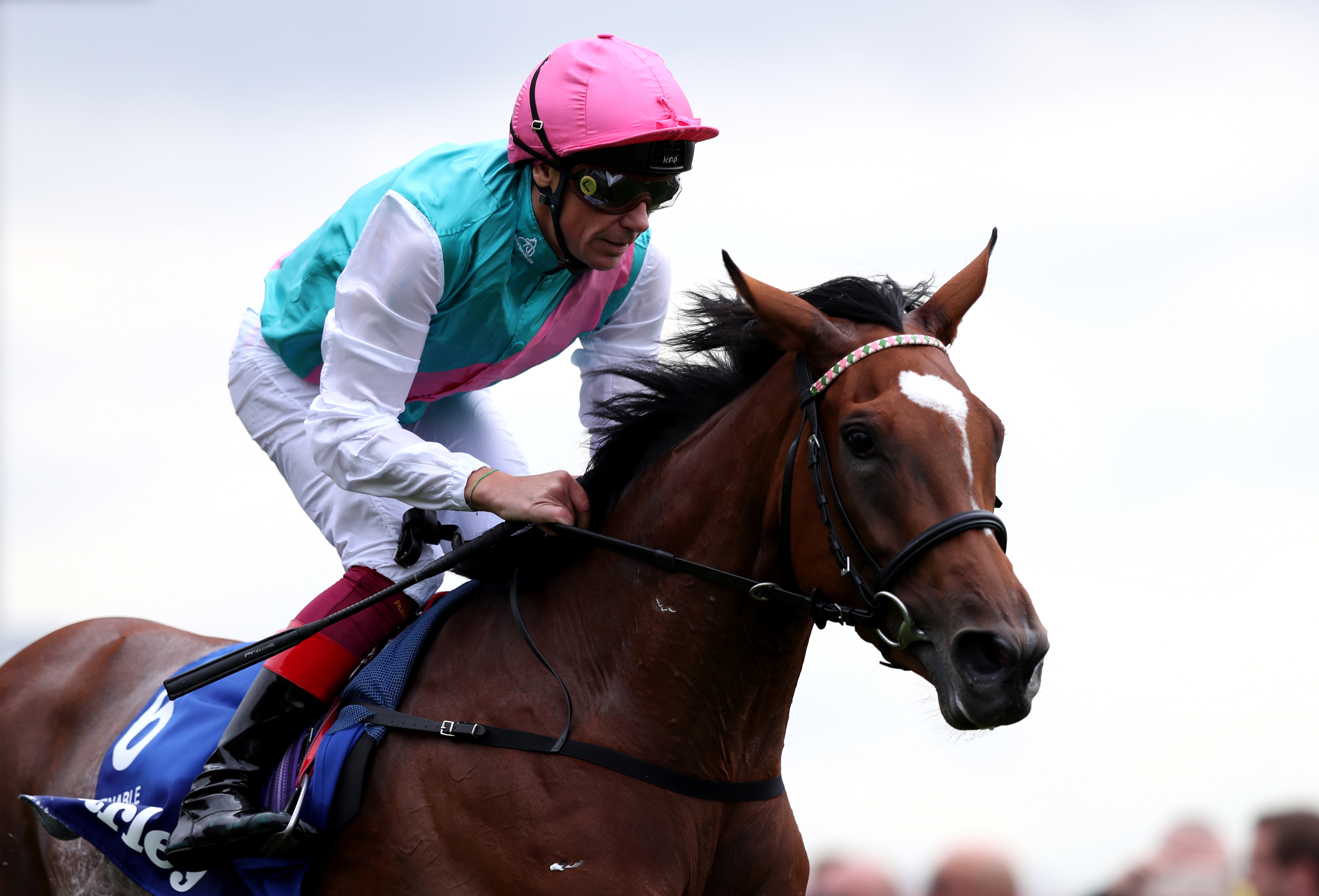 Enable makes her return at Kempton. (PA)