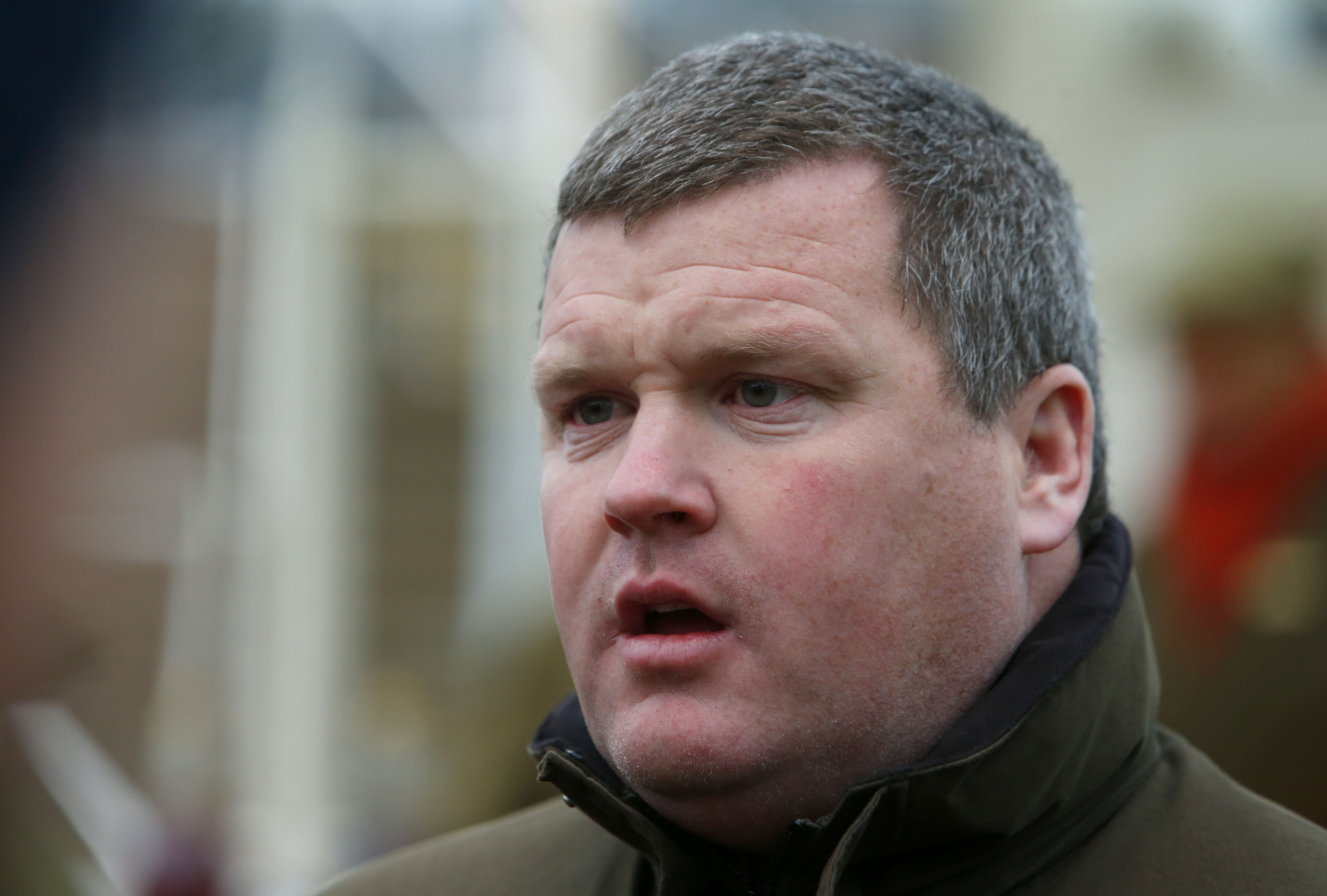 "Gordon Elliott has said he ""cannot apologise enough"" following the release of the picture"