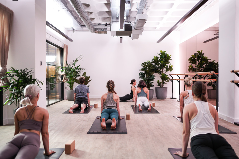 State-of-the-art yoga studio - RESET by FORM