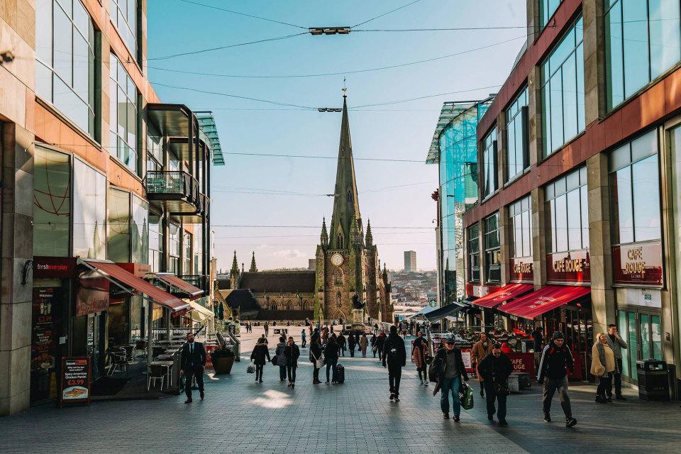 A short walk from Birmingham city centre's shops, bars and restaurants