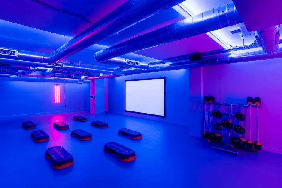 Gym and wellness studio