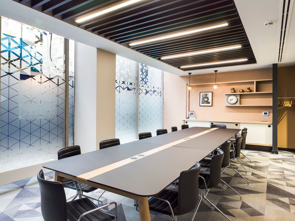 25% off meeting rooms at any Bruntwood Works venue (pictured - nearby Centurion)