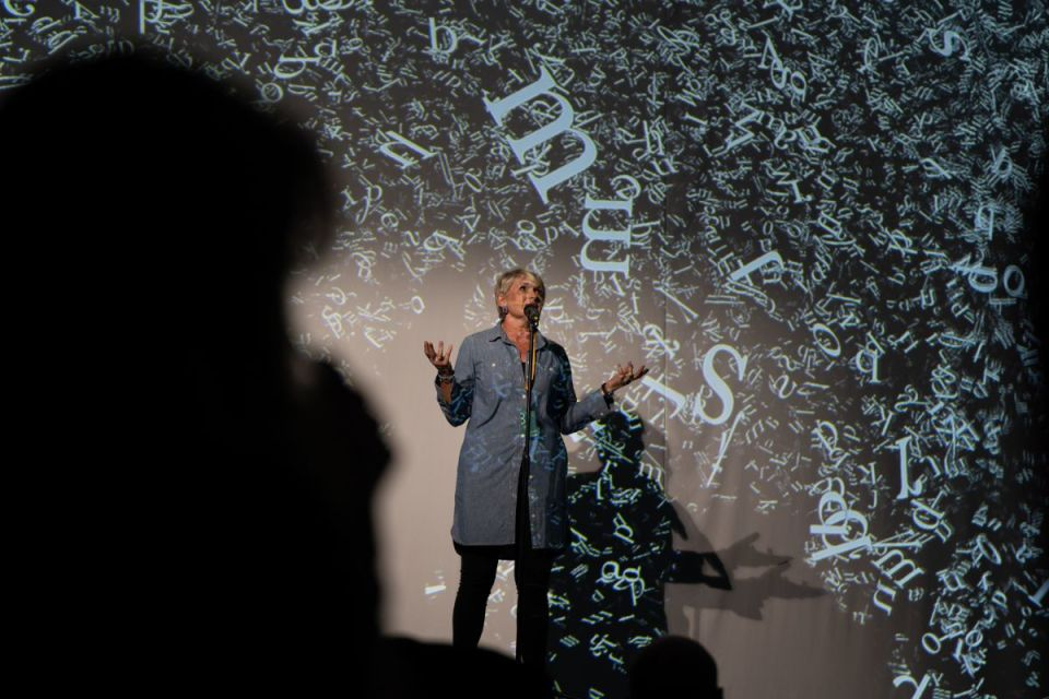 Kate Vokes at Atmospheric Memory at Manchester International Festival 2019