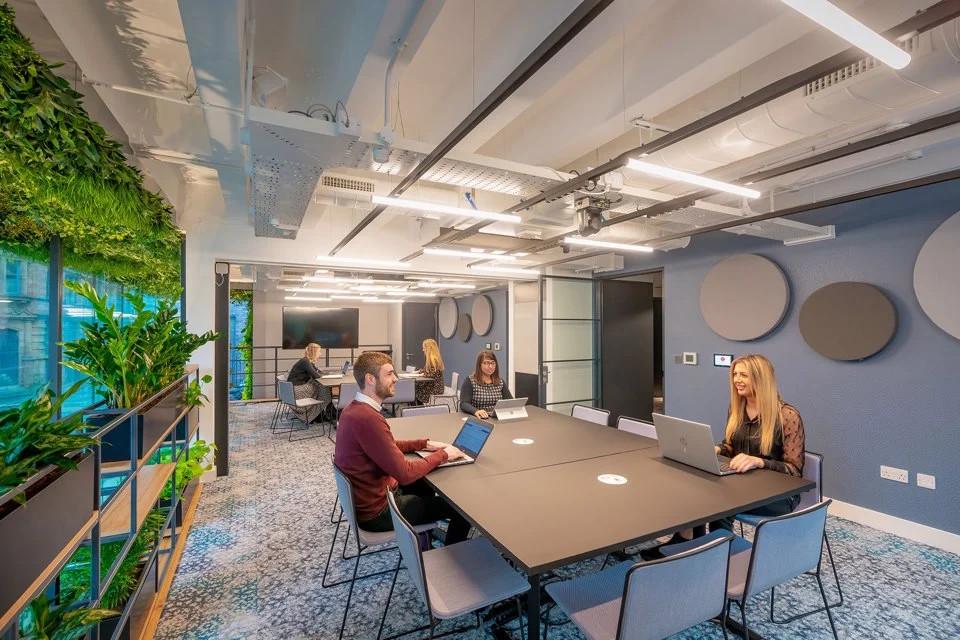 Bookable meeting rooms