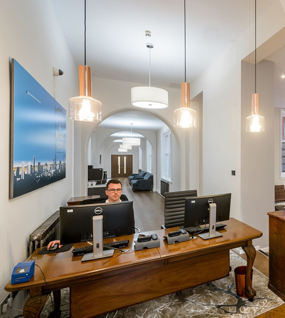 Office space at Cornwall Buildings