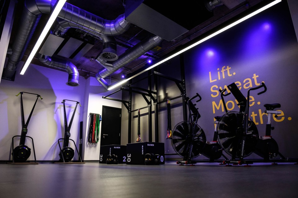 Use of fitness facilities at nearby Union
