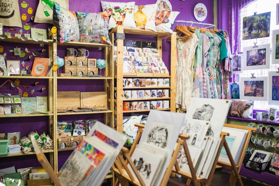 A bright retail unit at Afflecks