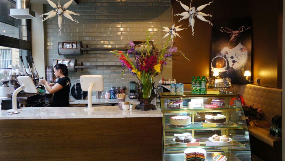 Moose Coffee on ground floor