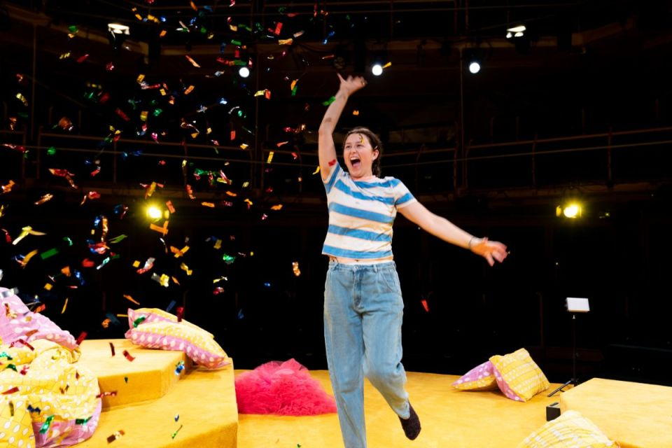 Liv Hill as Lola in Glee & Me. Photograph: Helen Murray