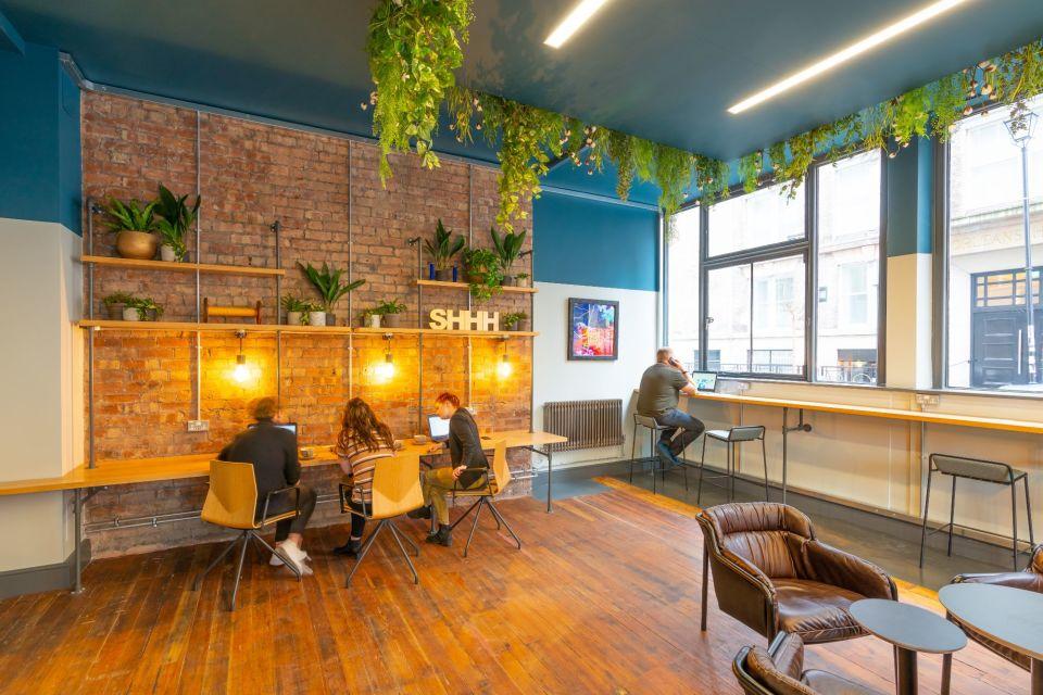 Contemporary reception area