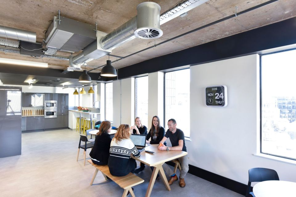 Leased space - breakout space