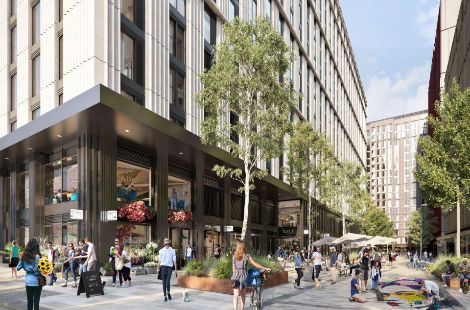 Circle Square retail