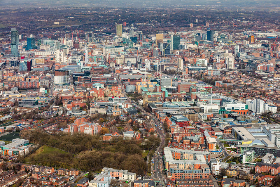 Close proximity to retail, leisure and cultural hotspots in Manchester's Innovation District
