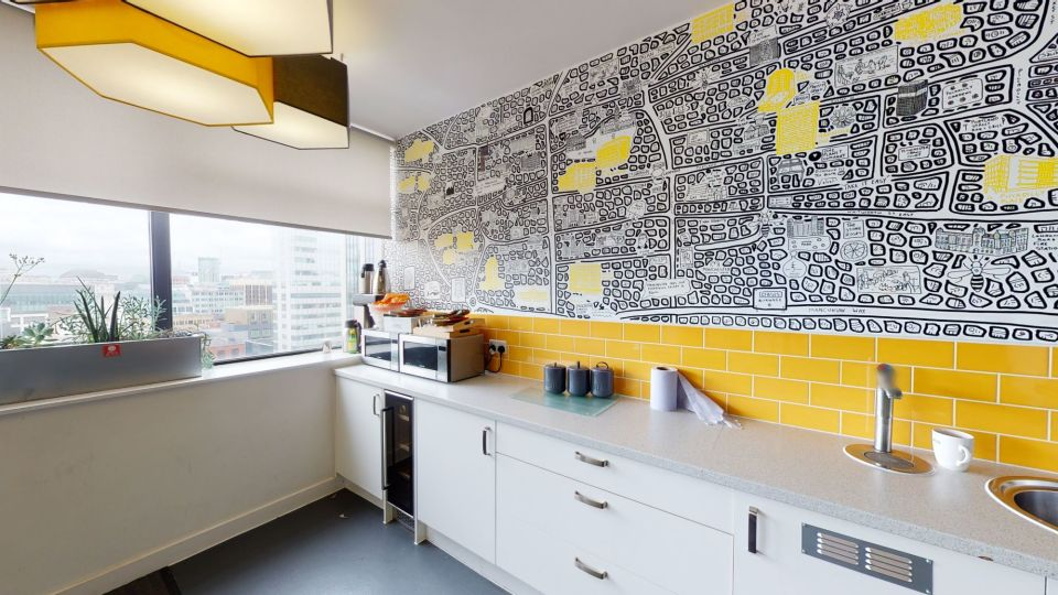 Example office kitchen