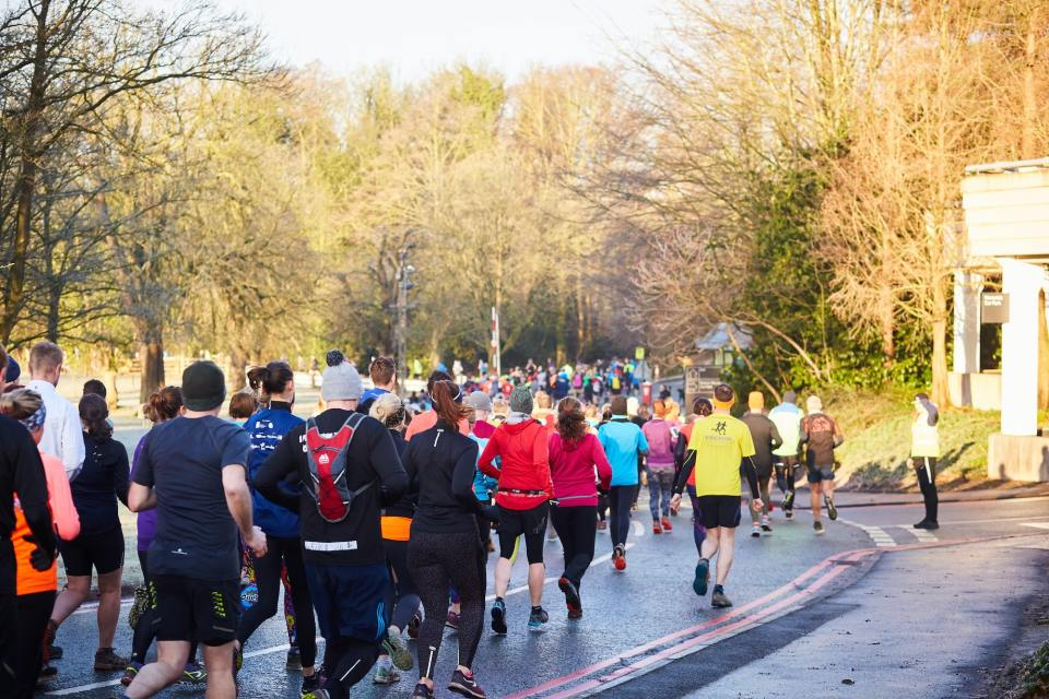 Alderley Park trail race with Run North West
