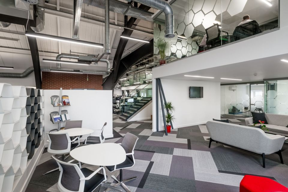 Open office space at 5 New York Street
