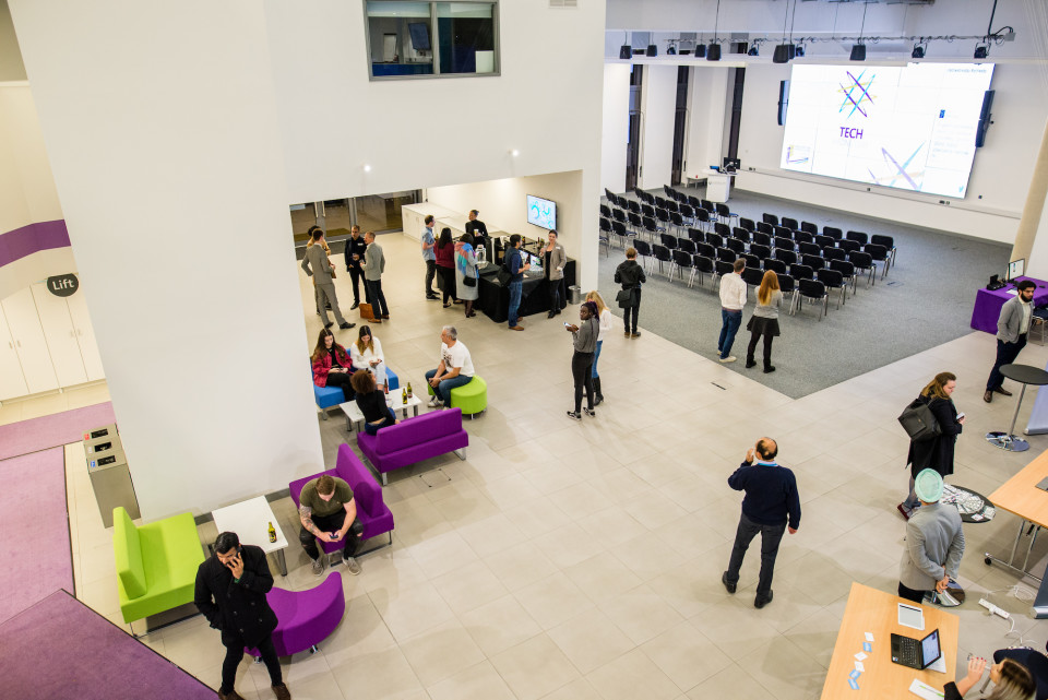 Versatile space for smaller meetings or large scale events