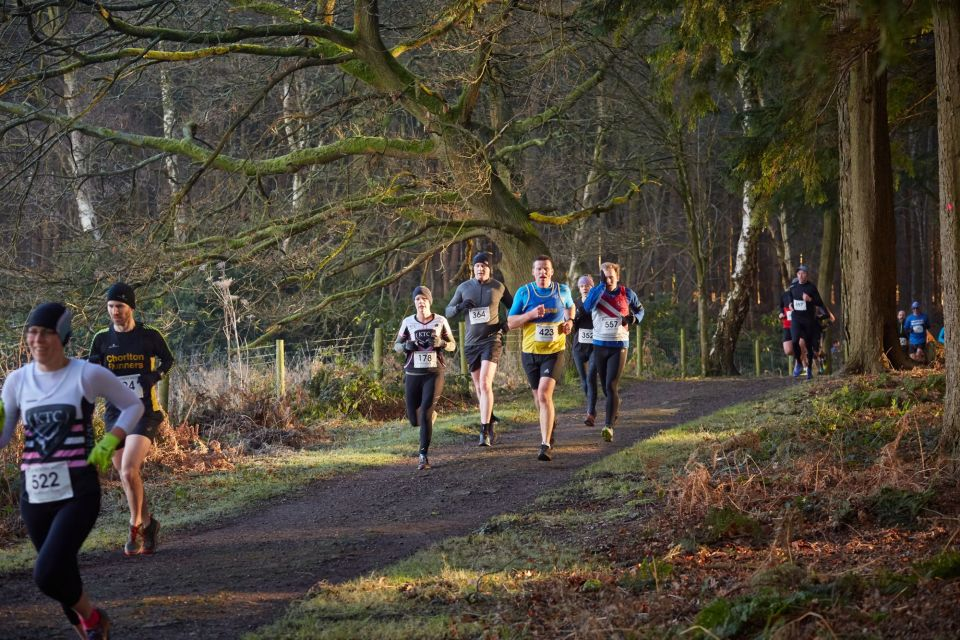 Running routes at Alderley Park