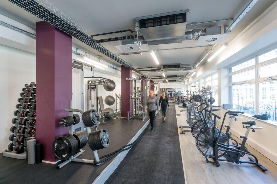 FORM gym studio on-site