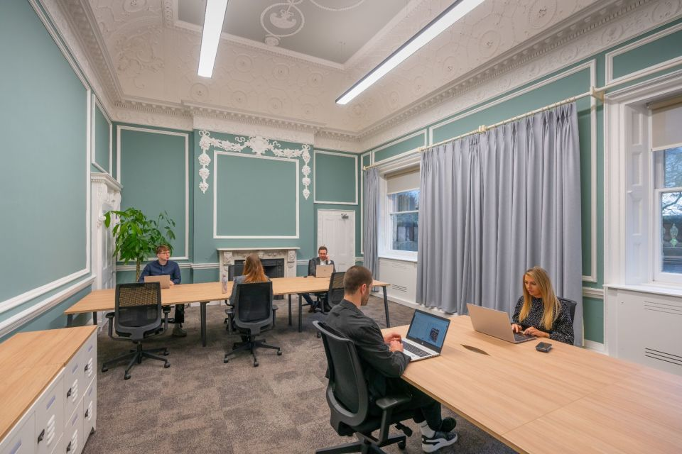 Office space at Booths Park