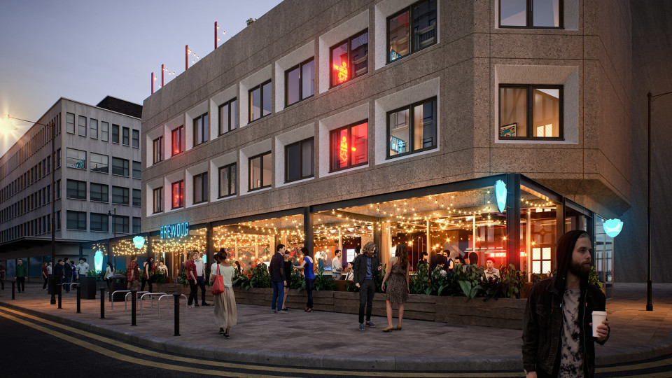 BrewDog bar and restaurant coming to Bloc in 2021