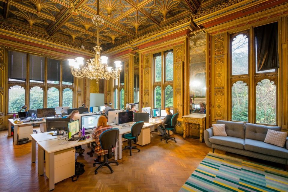 Office space at Abney Hall