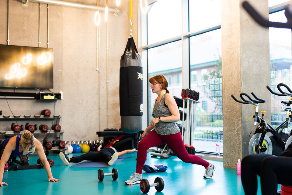 Studio gym access available at neighbouring Manchester Science Park
