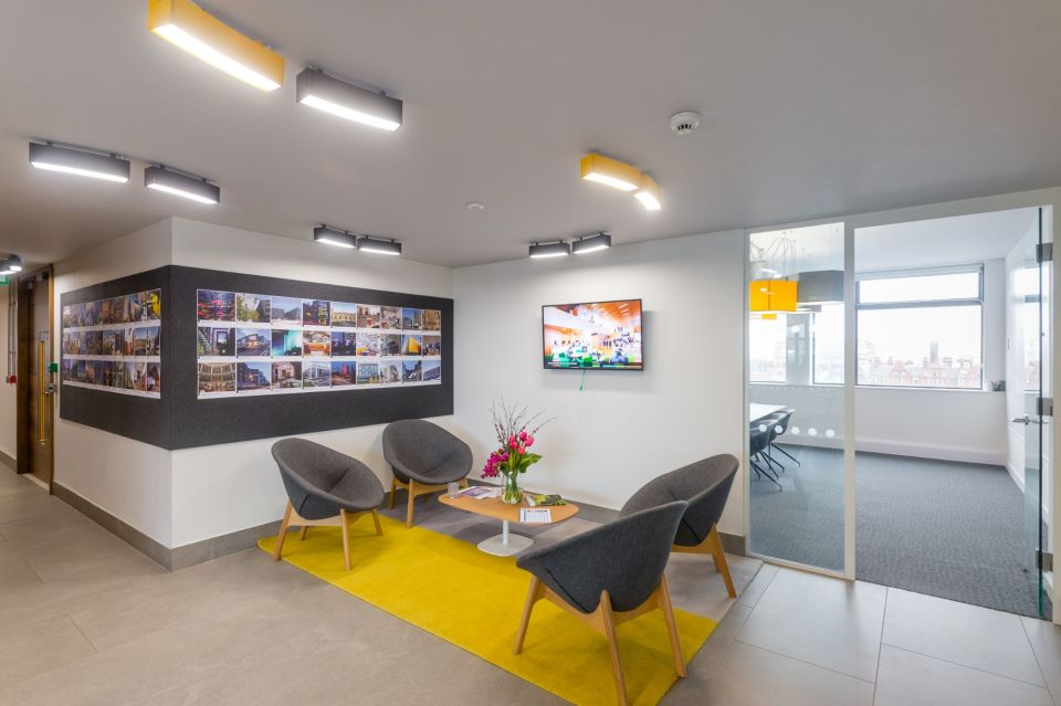 Example office lounge