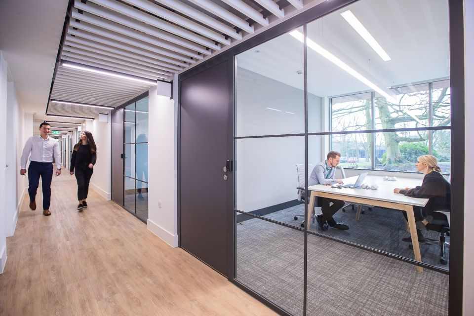 Glasshouse meeting rooms