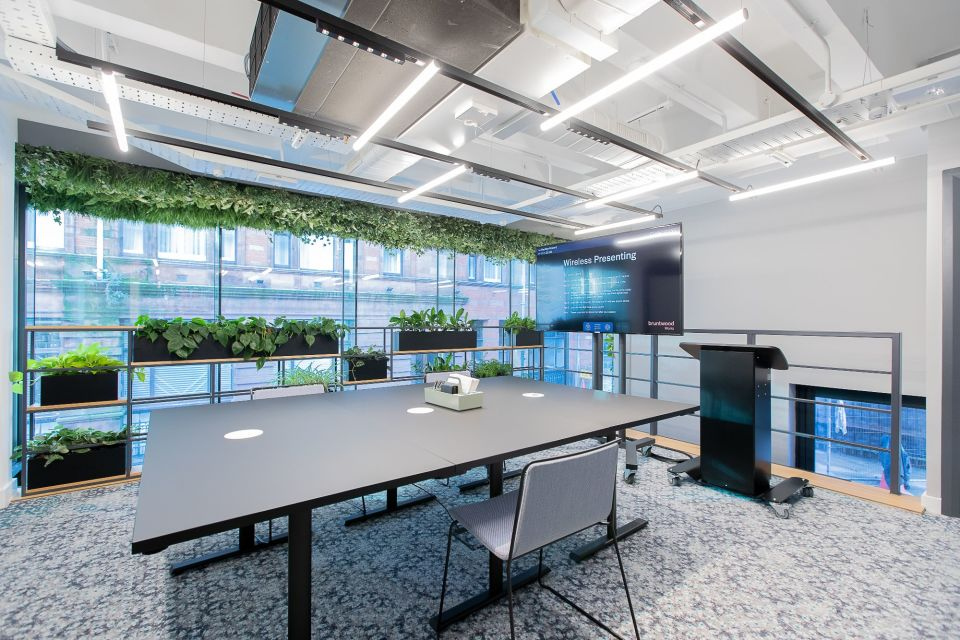 25% off meeting rooms in any Bruntwood Works venue (pictured - 111 Piccadilly)