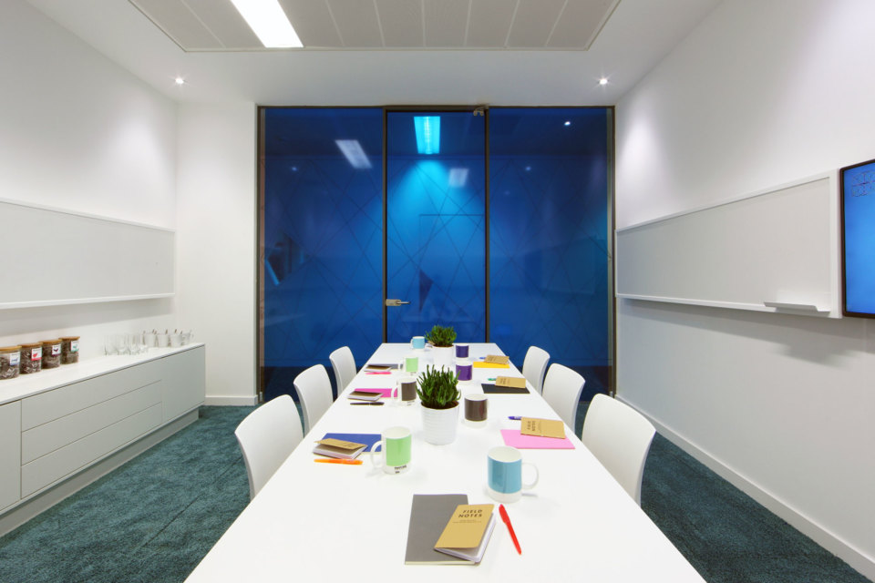 Meeting room facilities are available at Citylabs 1.0
