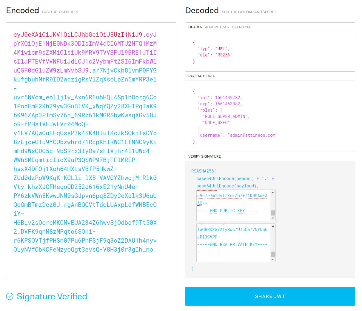 Blog - Mise en place des JWT dans une API REST avec Symfony