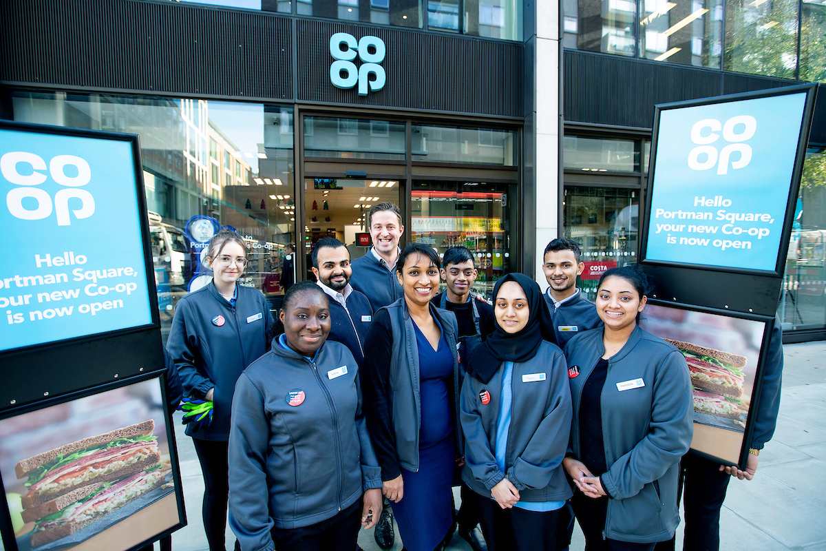 Portman Square Westminster Coop opening 2