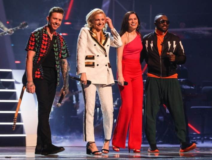 The Coaches perform on The Voice Kids UK 2019